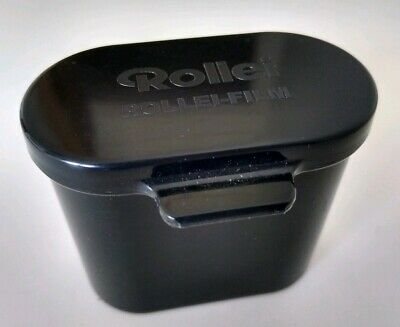 Genuine ROLLEI dual 35mm Film Canister Case Holder