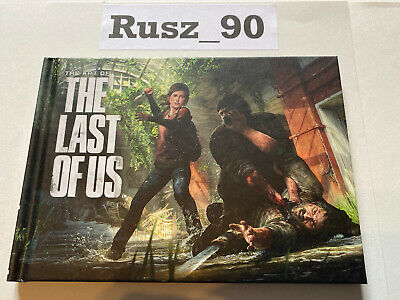 ARTBOOK ONLY The Last of Us PS3 Ellie/Joel Edition *RARE* IN PERFECT CONDITON