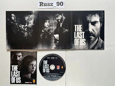 The Last of Us Joel Edition PS3 Game & Sleeve Only *RARE* IN EXCELLENT CONDITION