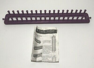 Long Loom Weaving Knifty Knitter Provo Craft  36 Pegs