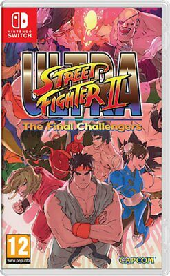 Ultra Street Fighter 2 Final Challengers Switch - totalmente in italiano
