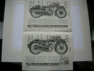 1934 RUDGE CATALOGUE