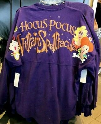 Disney Parks Halloween Party 2019 Hocus Pocus Spirit Jersey Size XL NWT