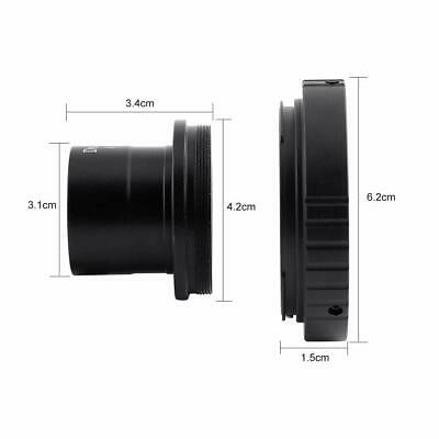"""1.25"""" Astronomical Telescope Mount Adapter + T SLR Ring for Canon Camera"""