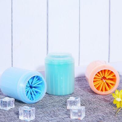 Dog Paw Cleaner Cup Soft Silicone Combs Portable Pet Foot Washing Machine Cup