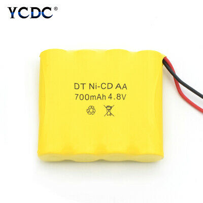 Rechargeable 4.8V 700mAh Ni-Cd AA Battery Pack For Models RC Boat Car Toys 9AD7