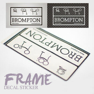 ACE Frame Decal Sticker for Brompton Bicycle Folding Bike UK