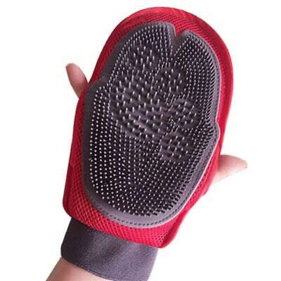 Pet Dog Massage Brush Dog Cat Shower Cleaning combing Glove Finger Cleaning hair