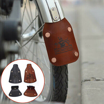 BROMPTON L-TYPE REAR MUDGUARD SILVER COMPLETE SET