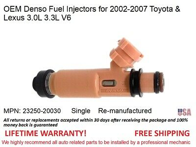 KM507178 1997 98 99 00 01 TOYOTA CAMRY 3.0L FUEL INJECTOR 23250-0A010 OEM