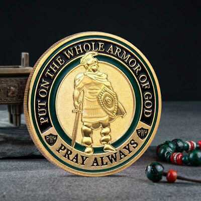 The Commemorative Whole Of Design Armor On Challenge God Collection Coin Put
