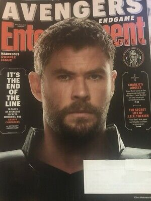 Entertainment Weekly - April 19 - 26, 2019 -- AVENGERS END GAME - Double Issue