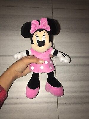 """15"""" Disney Minnie Mouse Plush Beanbag Doll - Stuffed Toy Authentic Licensed"""
