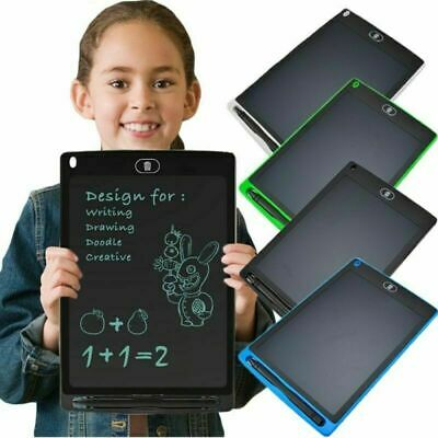 """8.5/12"""" LCD Writing Pad Kids Painting Drawing Tablet  Doodle eWriter Board Gifts"""