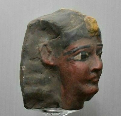 ANCIENT EGYPT ANTIQUE Egyptian HEAD of Ramesses II stone