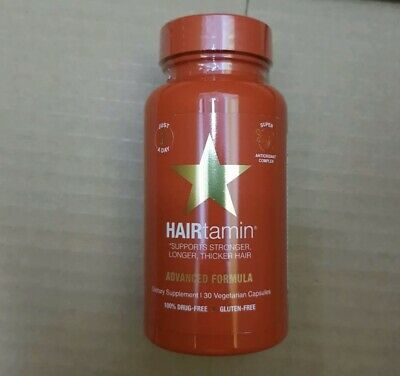 Hairtamin Vitamins. Supports Stronger, Longer, Thicker Hair