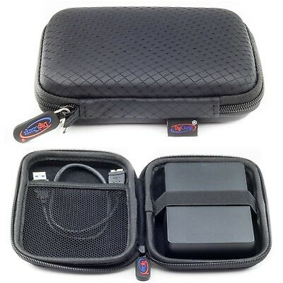 Black Case For SEAGATE Expansion Wireless Plus External Portable Hard Drive case