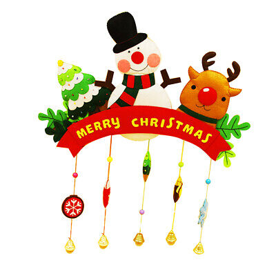DIY Felt Craft Material Christmas Felt Applique Ornaments Home Hanging Decor