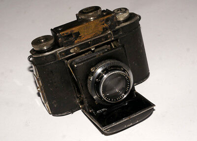 RARE Pre-WAR Certo Dollina II Schneider Xenon 2/50 mm German 35 mm Camera