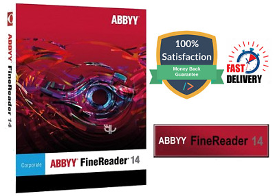ABBYY FineReader Corporate 14 Full Lifetime Windows Version Fast Delivery