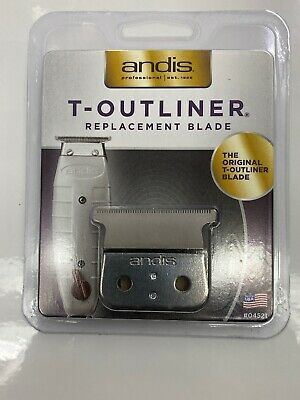 Andis T-outliner 04521 Replacement Hair Trimmer Blade Silver