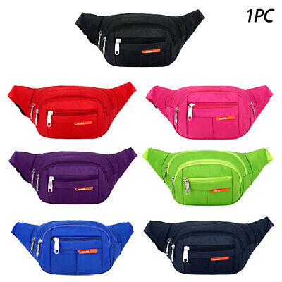Waterproof Sports Hiking Running Crossbody Belt Bum Waist Bag Pouch Fanny Pack