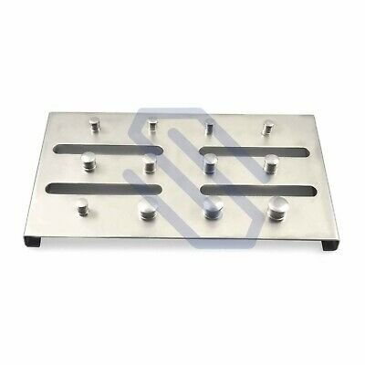 Dental Rubber Dam Clamps Holder Sterilization Tray for 12 Clamps Endodontic
