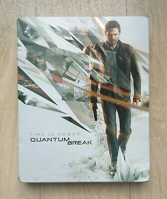 Quantum Break Steelbook - Microsoft XBOX One - Jeu sans Notice - PAL FRA - TBE