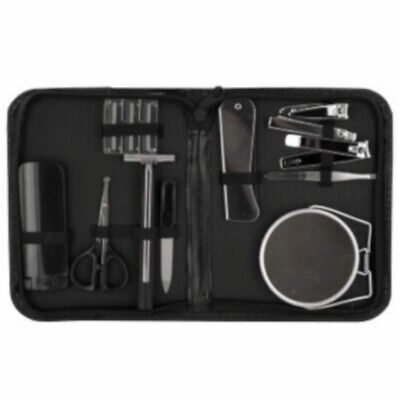 Mens 12 Piece Grooming Kit For Travel
