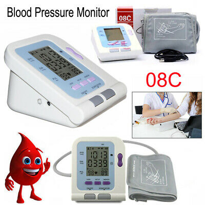Upper Arm Blood Pressure Monitor Electronic Sphygmomanometer+Adult Cuff+Software