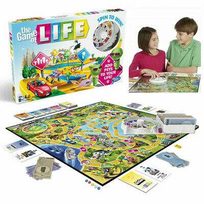 The Game of Life Board Game Party Family Kid Interactive Education Creative Gift