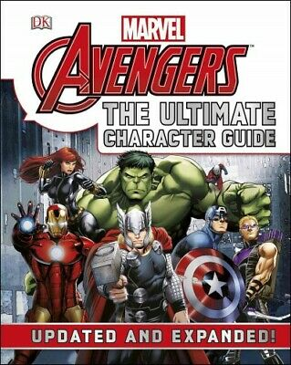 Marvel Avengers The Ultimate Character Guide, Hardcover by Cowsill, Alan, Bra...