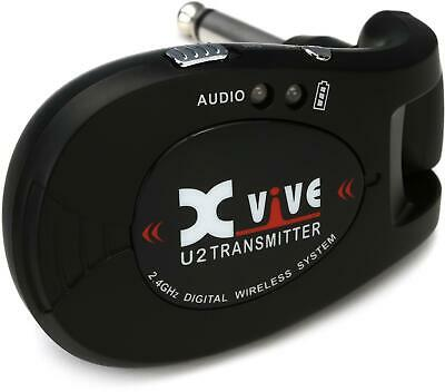 Xvive Audio U2T Wireless Transmitter for Guitar - Black