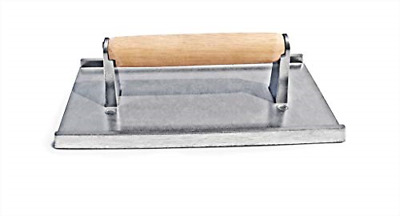 BEST Commercial Grade Aluminum Steak Weight/Bacon Press 8.25 by 4.25-Inch NEW