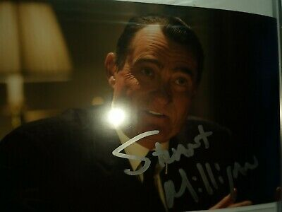 Doctor who - Stuart milligan - prs nixon GENUINE hand signed Autographed photo