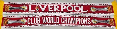 Liverpool Woollen Scarf - Club World Champions 2019