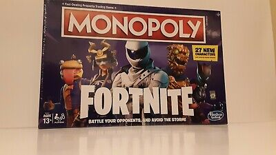Monopoly: Fortnite Edition Board Game. New. Factory sealed.