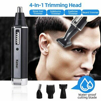 Electric Mens Beard Hair Clipper Shaver Blade Trimmer Nose Ear Grooming Cordless