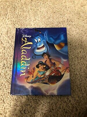 Aladdin Blu-ray/DVD, 2015, 2-Disc Set Target Exclusive Diamond Edition Storybook