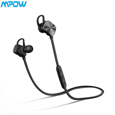 Mpow 4.1 Bluetooth Wireless Headphones Earphone Sport for iPhone 6s 7 Samsung MY