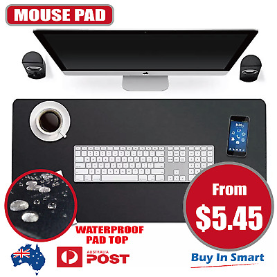 Extra Large Mouse Pad Gaming Waterproof Mousepad Desk Mat Anti-slip Rubber