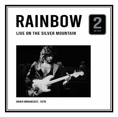 RAINBOW 'LIVE ON THE SILVER MOUNTAIN' (1976 Broadcast) 2 CD Set (7th FEB. 2020)