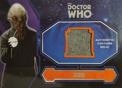 2015 Topps Dr. Who  Costume Card  #4  Ood Alien Costume