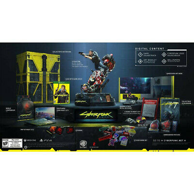 Cyberpunk 2077 Collector Edition - XBOX ONE - LIMITED AND SOLD OUT - ONLY 1