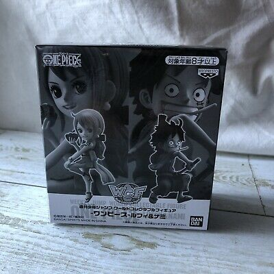One Piece World Collectable Figure WCF Luffy and Nami WAno Country free shipping