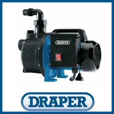 Draper 10461 230V 1100W Surface Mounted Water Pump Self-Priming Thermal Overload