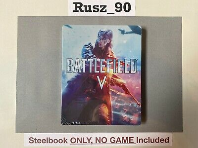 STEELBOOK ONLY Battlefield V 5 PS4/Xbox One/PC BRAND NEW & SEALED