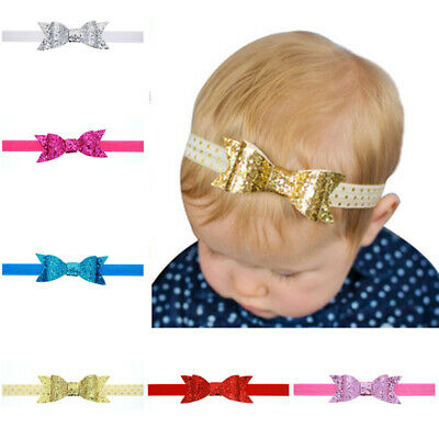 Baby Girls Bow Headband Hairband Soft Lovely Band Variety Hair Accessories +Lot