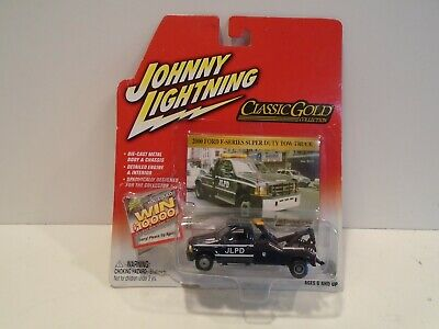Johnny Lightning JLPD 2000 Ford F-Series Super Duty Tow Truck