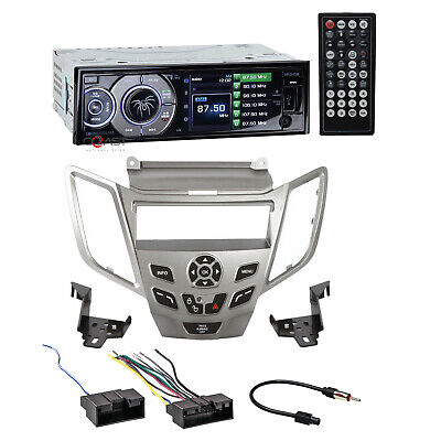 """Soundstream 3.4/"""" LCD Screen Radio Dash Kit Harness For 2010-Up Ford Fiesta"""